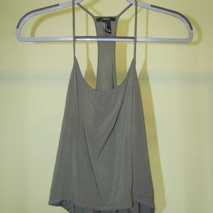 Forever21 cropped tank top